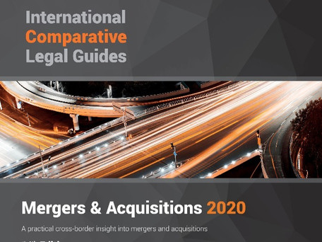 Mergers & Acquisitions 2020: Ukraine