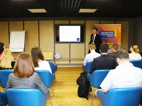 Alexander Weigelt gave a Lecture on Ukrainian new Transparency