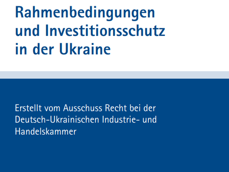 Investment Protection in Ukraine