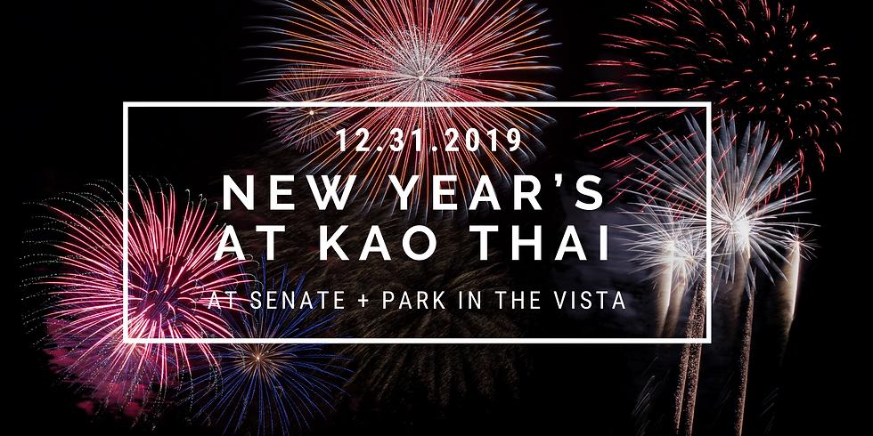 New Year's at Kao Thai