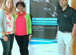 2014 World Conference on Groin in Injuries Presentation by Hima Dalal, OTR/L