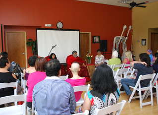 Power of Breath and Science of Meditation Event with Babaji a Success!