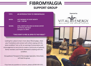 Join us for an evening of encouragement at our Fibromyalgia Support Group!