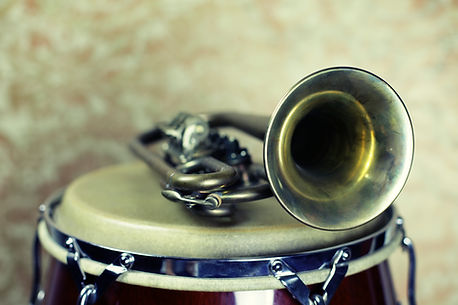 Picture of musical instruments