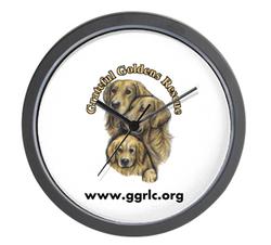GGR logo clock