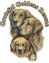 GGR logo of family of goldens