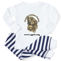 Baby jammies with GGR logo