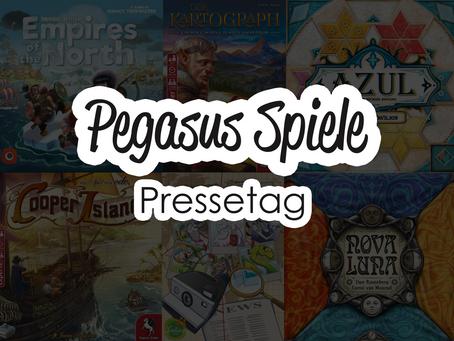 Pegasus Spiele: Pressetag