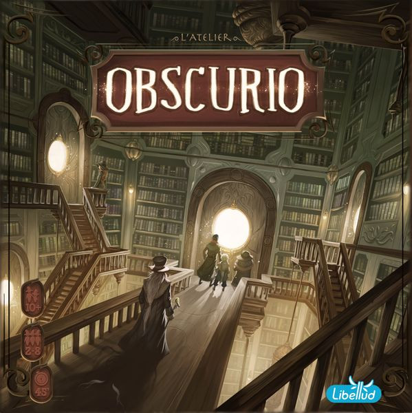 Obscurio Cover - Libellud
