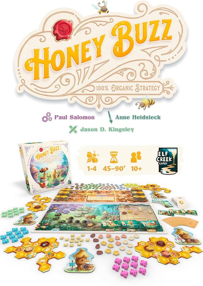 Bild aus der Kickstarter Kampagne Honey Buzz
