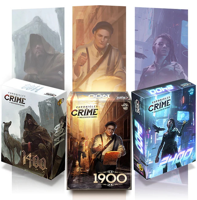Bild aus der Spieleschmiede Kampagne Chronicles of Crime - Millennium