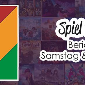 #SPIEL19 Bericht: Samstag & Sonntag
