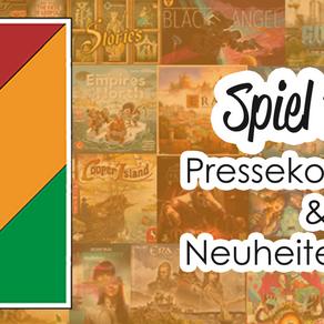 #SPIEL19 Pressekonferenz & Neuheitenschau
