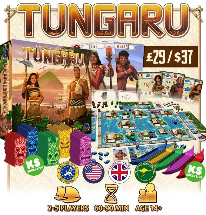 Bild aus der Kickstarter Kampagne Tungaru