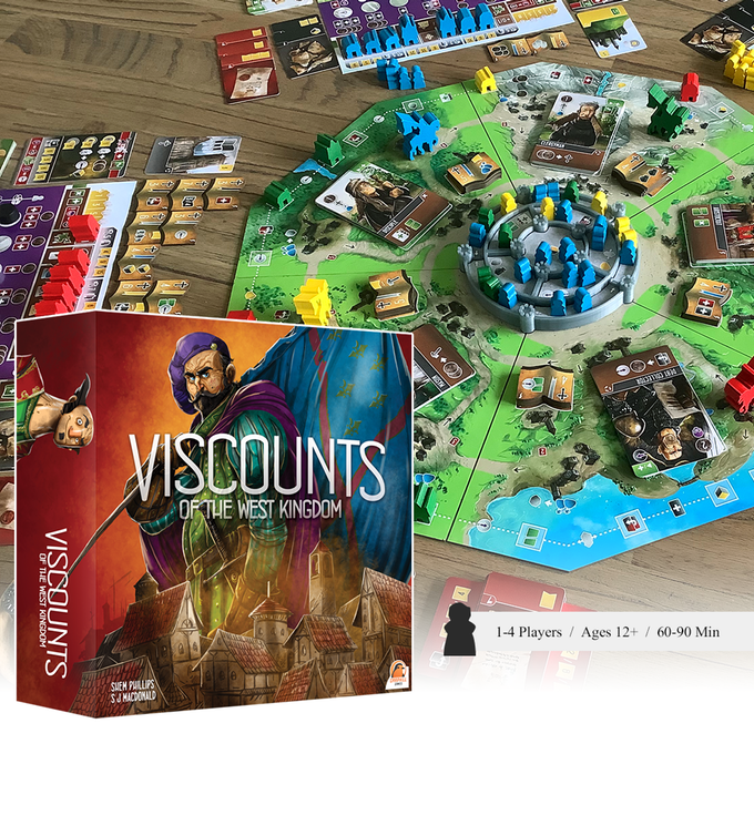 Bild aus der Kickstarter Kampagne Viscounts of the Westkingdom