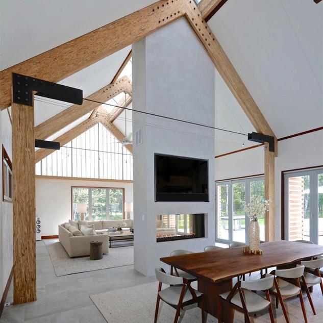 Sagaponack Modern Green Barn