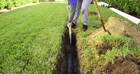 Making the Correct Pitch for Drainage