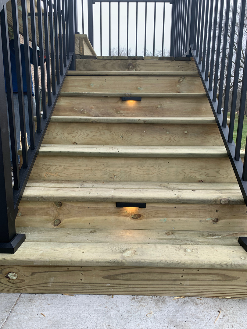 Deck Step Lighting