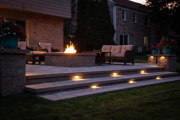 Patio Step Lighting