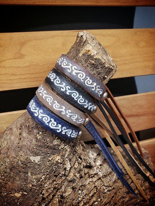 Swirl Stamp Bracelet