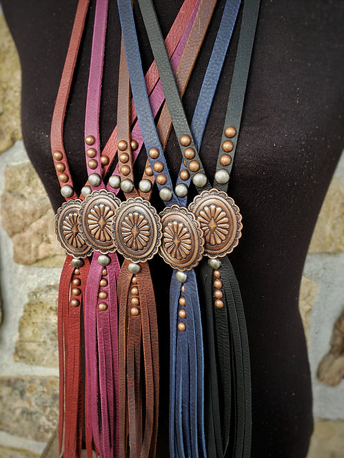 Cooper Aztec Tassel Necklace
