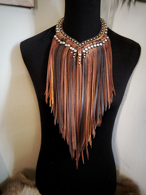 Fringes Necklace #1