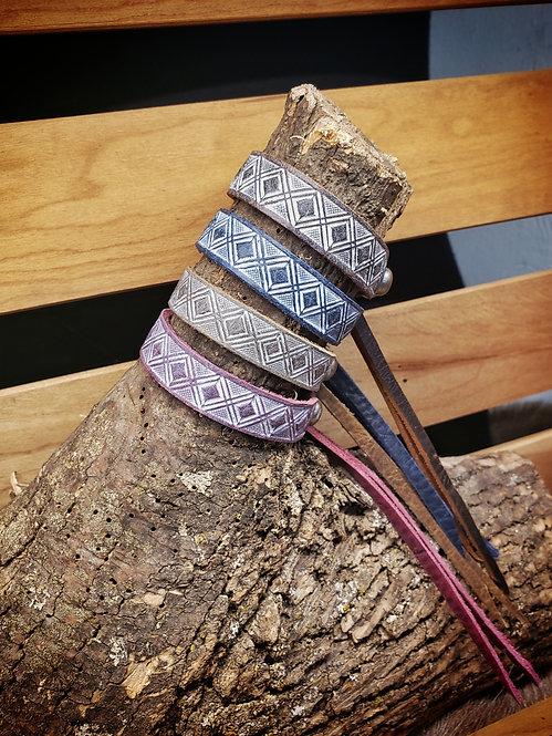 Diamond Stamp Bracelet