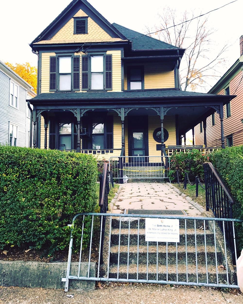 Birth home of MLK