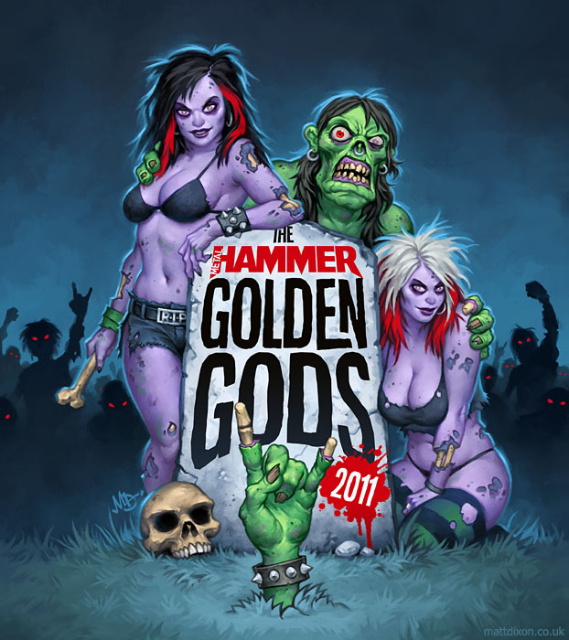 Metal Hammer Golden Gods 2011