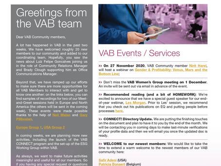 VAB News - 18/11/20