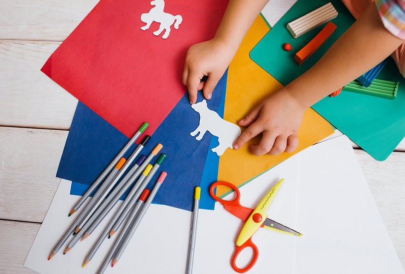 Canva - Childhood art. Early children ed