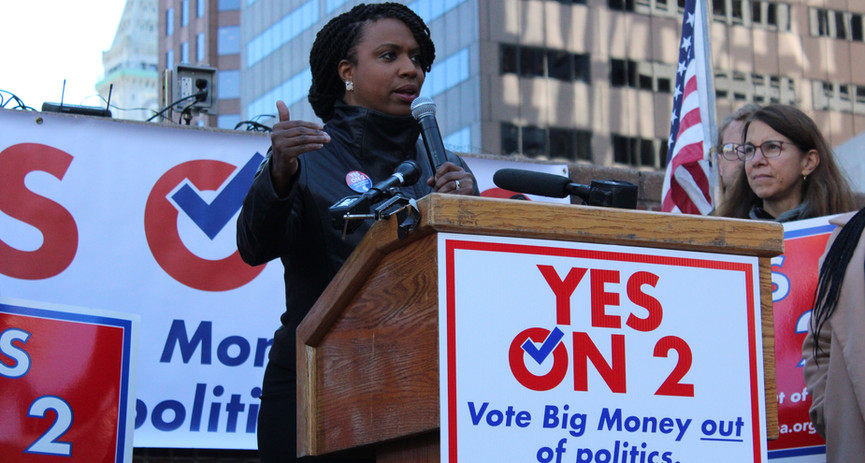 Ayanna Pressley, Yes on 2