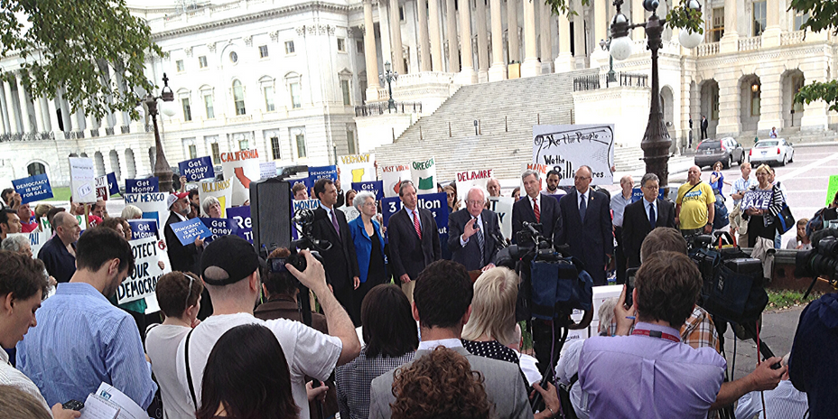 Bernie Sanders, Democracy For All Amendment
