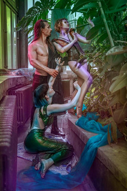"""Demeter, Persephone & Hades"" - series"