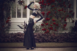Belinda Bartzner - Dead Lotus Couture Latex