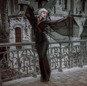 Photo & post processing by Sanne Van Bergenhenegouwen Fotografie MU & hairstyling: Romy Bollion Outfit by Cadavre Exquis Couture