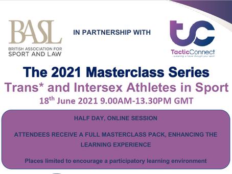 BASL Masterclass: Trans* and Intersex Athletes in Sport