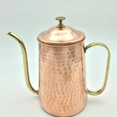 香港匠人【陸炳記銅器】全手工咖啡手沖壺