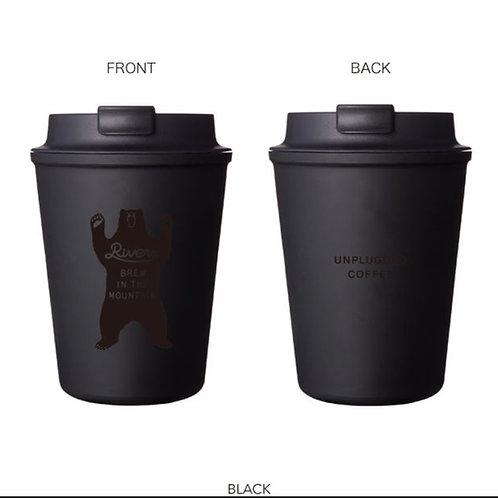 【BEAR特別版】日本RIVERS WALLMUG SLEEK 雙層隨行咖啡杯 Double Wall Mug