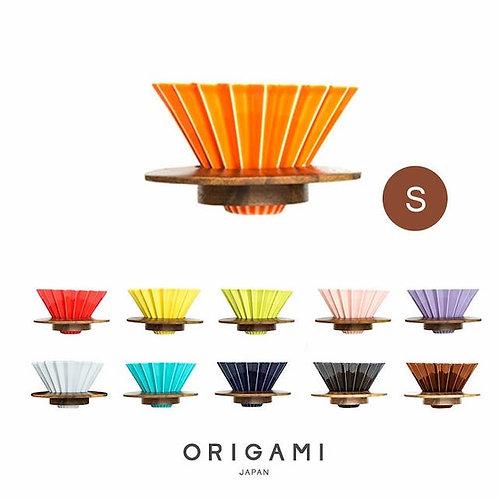 【日本製】ORIGAMI 摺紙咖啡陶瓷濾杯S號