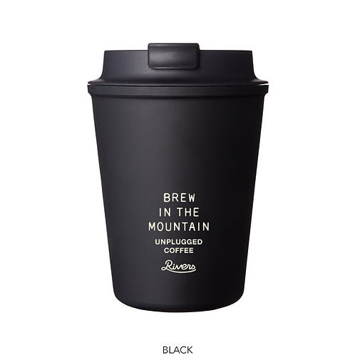 【UP特別版】日本RIVERS WALLMUG SLEEK 雙層隨行咖啡杯 Double Wall Mug