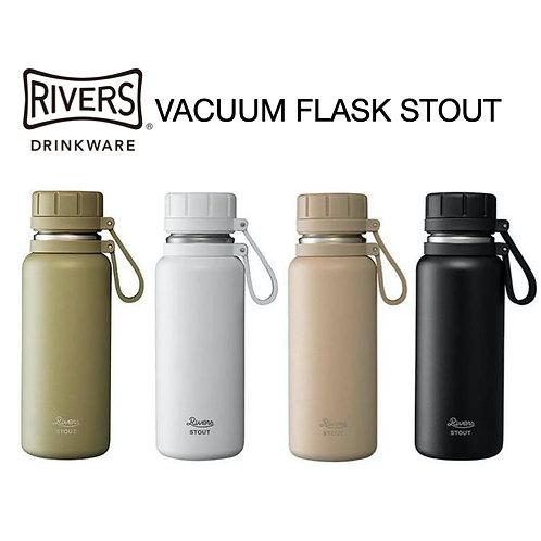 日本RIVERS 不鏽鋼保溫瓶 VACUUM FLASK STOUT 500ml