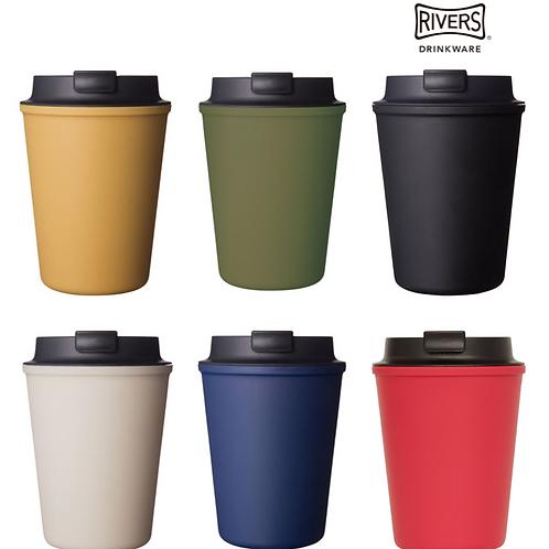 日本RIVERS WALLMUG SLEEK 雙層隨行咖啡杯 Double Wall Mug
