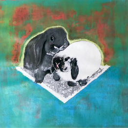 The Couple Of Rabbits, 2018 (SOLD)