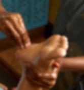 Massage bien être des pieds