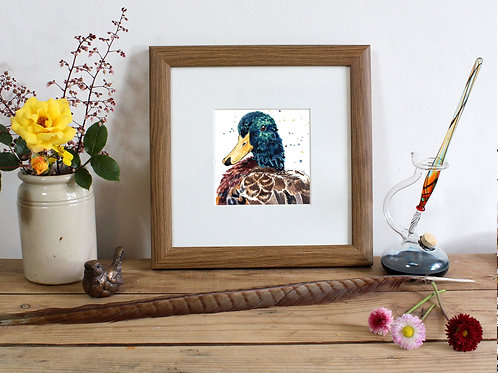 Mini Framed Original Duck 'Emmett'