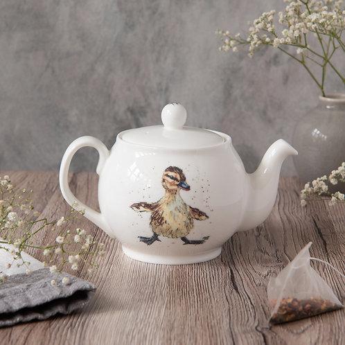 Balancing Duckling Mini Teapot