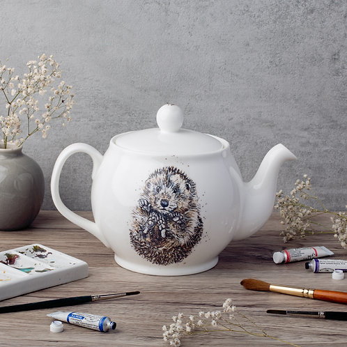 Hedgehog Bone China Teapot