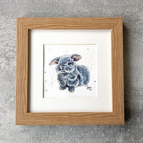 'Bon Bon' Original Bunny Painting