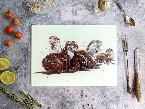 'Otter Chaos' Placemat